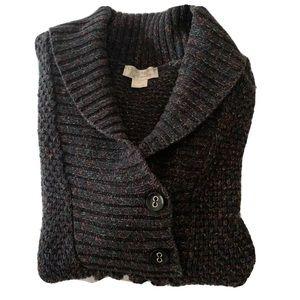 Christopher & Banks Women's Sweater Black Medium
